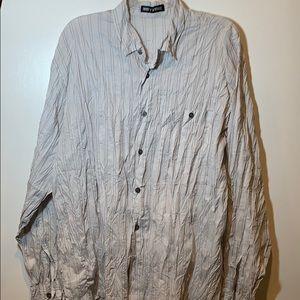 Issey Miyake Japan Twisted Long Sleeve Shirt